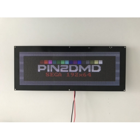 PIN2DMD-XL 192x64 DMD for Sega